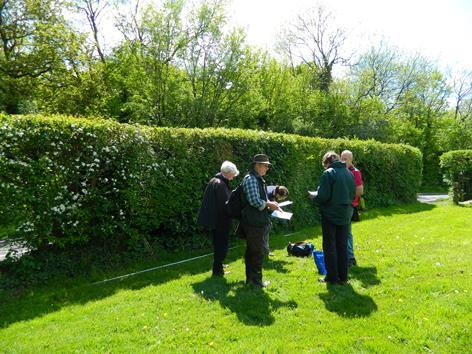 Hedgerow survey course