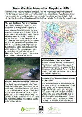 River Wardens Newsletter May-June 2015