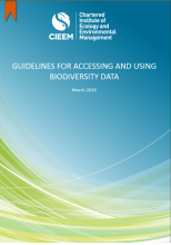 CIEEM Guidelines for Accessing and Using Biodiversity Data